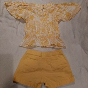 Gymboree Matching Sets - Gymboree shirt and shorts Set Size 10